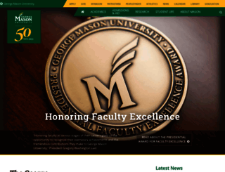 newsdesk.gmu.edu screenshot