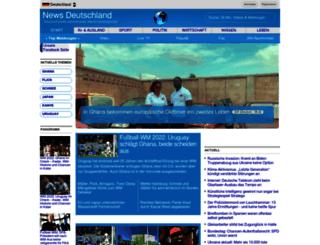 newsdeutschland.com screenshot