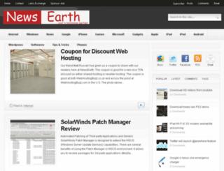 newsearth.eu screenshot