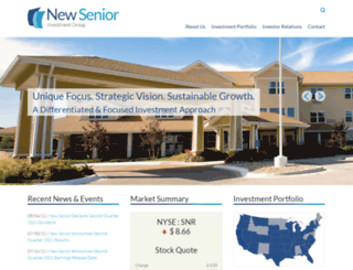 newseniorinv.com screenshot