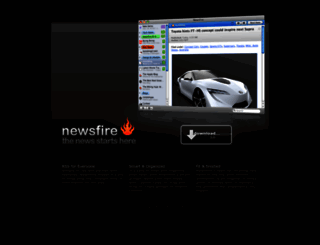 newsfirerss.com screenshot