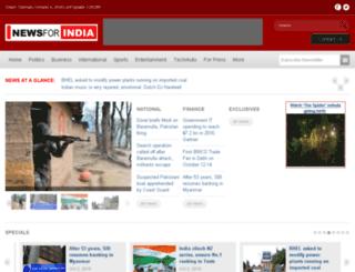 newsforindia.com screenshot