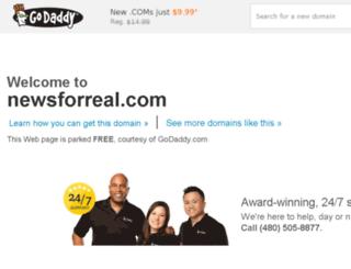 newsforreal.com screenshot