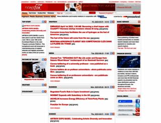 newsfox.com screenshot