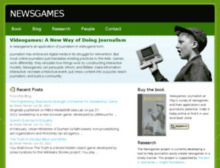 newsgames.gatech.edu screenshot