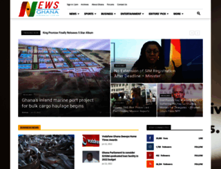 newsghana.com.gh screenshot