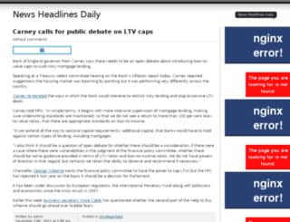 newsheadlinesdaily.us screenshot