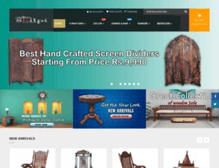 newshilpihandicrafts.com screenshot