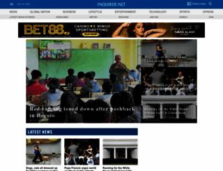 newsinfo.inquirer.net screenshot