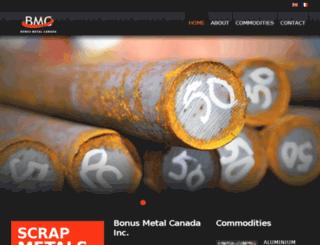 newsite.bonusmetal.com screenshot