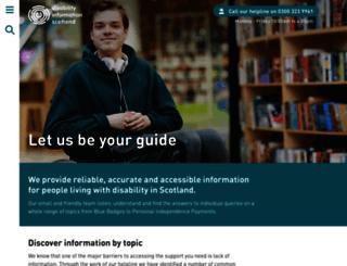 newsite.saifscotland.org.uk screenshot
