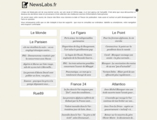 newslabs.fr screenshot