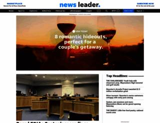 newsleader.com screenshot