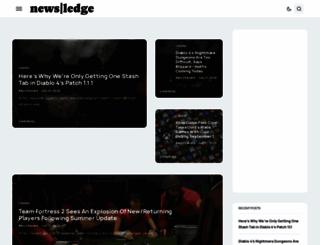 newsledge.com screenshot