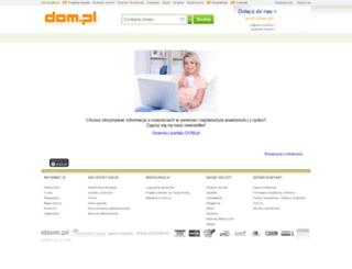 newsletter.dom.pl screenshot