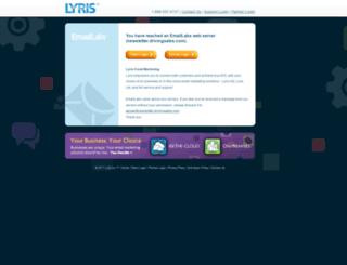 newsletter.drivingsales.com screenshot