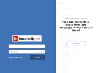 newsletter.hospitalitynet.org screenshot