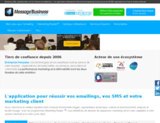 newsletter.lettreaubade.com screenshot