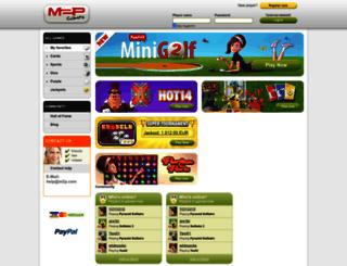 newsletter.m2p.com screenshot