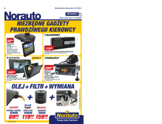 newsletter.norauto.pl screenshot