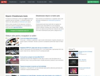 newsletter.permis-de-conducere.ro screenshot