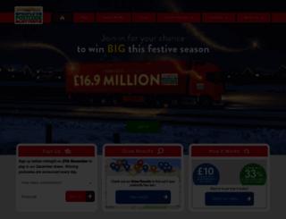 newsletter.postcodelottery.co.uk screenshot