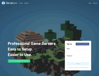 newsletter.server.pro screenshot