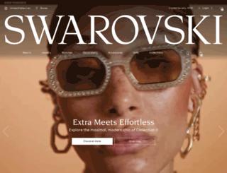 newsletter.swarovski-newsletter.com screenshot