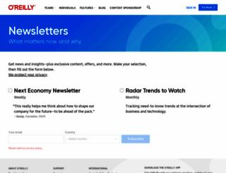 newsletter.web2-0expo.com screenshot