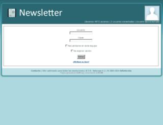 newsletter.webnovias.com screenshot