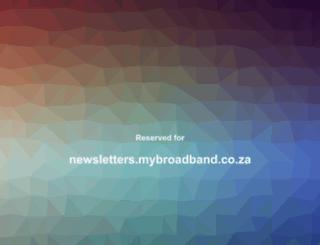 newsletters.mybroadband.co.za screenshot
