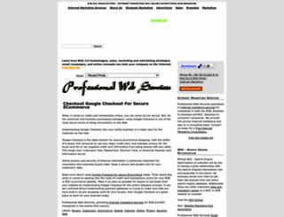 newsletters.pwebs.net screenshot