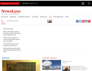 newslync.com screenshot
