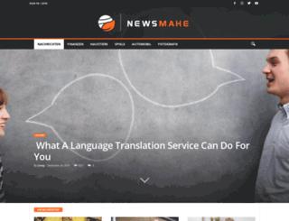 newsmake.net screenshot
