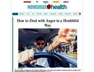 newsmaxhealth.com screenshot
