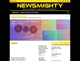 newsmighty.com screenshot