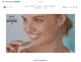newsmile.dk screenshot