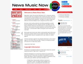 newsmusicnow.com screenshot