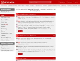 newsnow.net screenshot