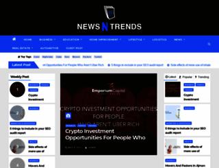 newsntrends.com screenshot