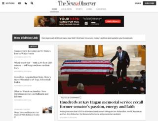 newsobserver.com screenshot