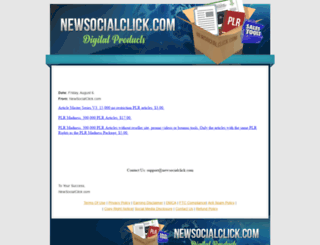 newsocialclick.com screenshot