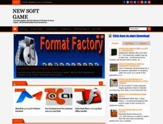 newsoftgame.blogspot.com screenshot