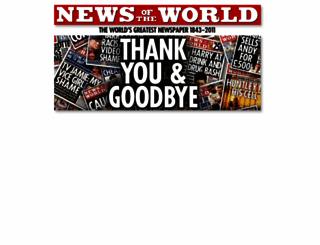 newsoftheworld.co.uk screenshot