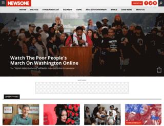 newsone.blackplanet.com screenshot