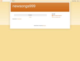 newsongs999.blogspot.com screenshot