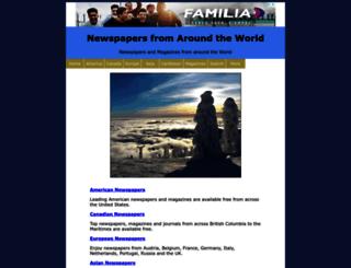 newspaper-world.com screenshot
