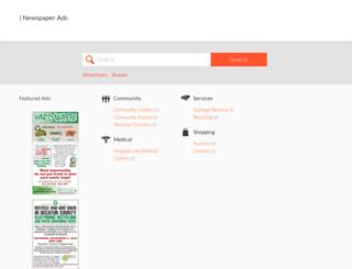 newspaperads.greensburgdailynews.com screenshot