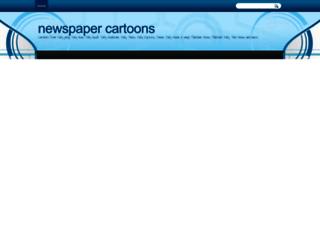 newspapercartoonspk.blogspot.com screenshot
