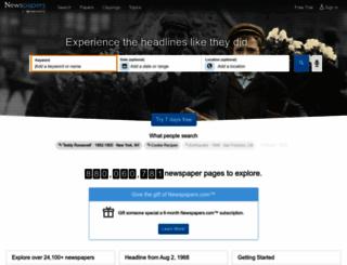 newspapers.com screenshot